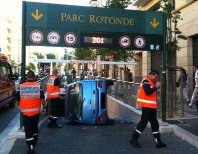 Avp juin 2011 aix en provence entr e parc rotonde c - Bureau de poste rotonde aix en provence ...