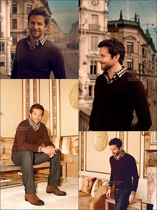 Magnifique shoot de Bradley Cooper datant de 2011 . __ J'aime, j'adore, j'adhère. (l) __ Et toi ?