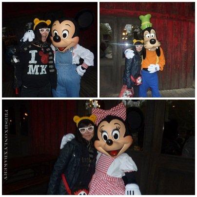 Les personnages Disney & moi :)