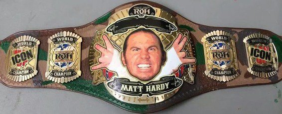 ROH Matt Hardy Iconic Championship.