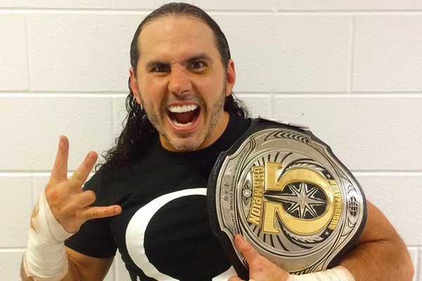 OMEGA Champion Matt Hardy
