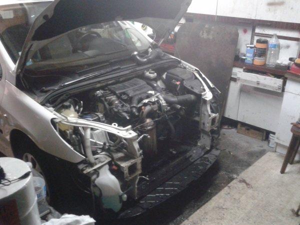 Changement d'un moteur 307  1.6 hdi 90