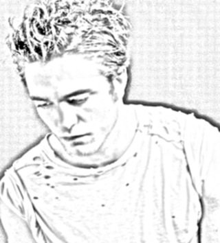 portrais de Robert pattinson fait par moi