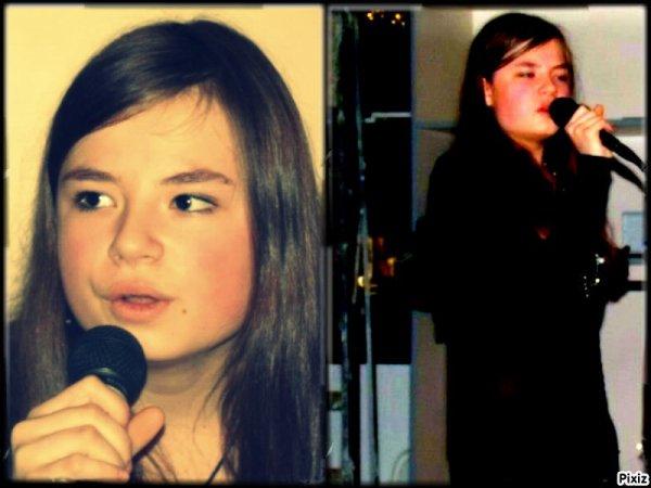 moi qui chante :)