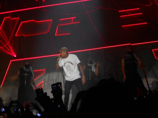 Concert de CHRIS BROWN <3
