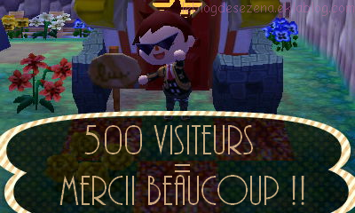 500 visites !? Wahou !!