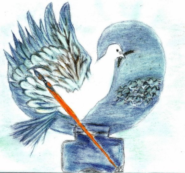 petite colombe surveille le monde!!!