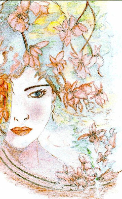regard sous les fleurs...