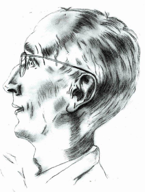 portrait:monsieur à lunette