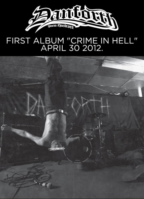 CRIME IN HELL - Danforth : 30 Avril dans les bacs !