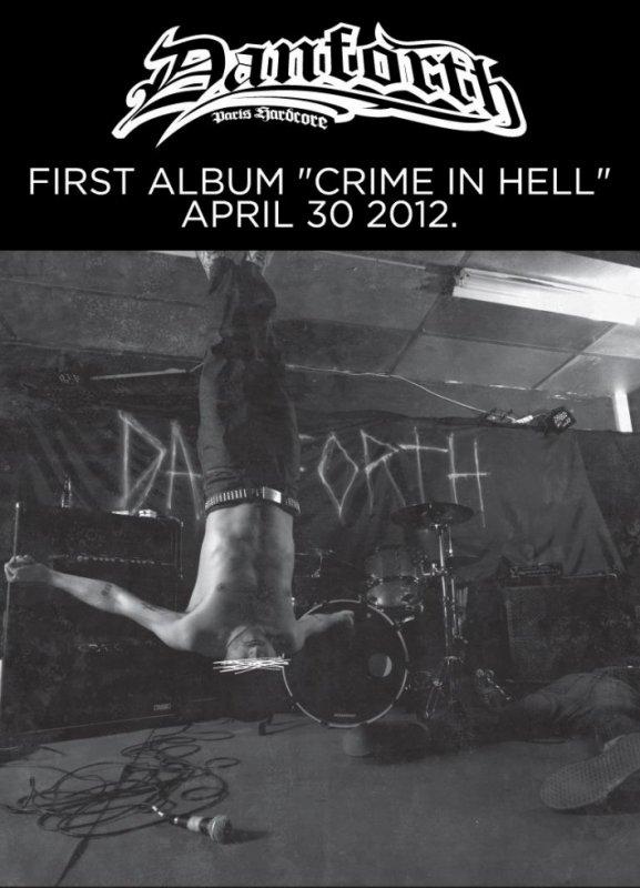 CRIME IN HELL - Danforth : 30 Avril dans les bacs !