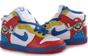 classic fit 5b972 22be4 Super Mario Shoes, One Piece Luffy Shoes, Super Mario Bros
