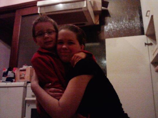 mon petit frère et mwa