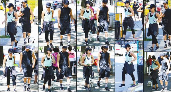 -  18.07.15 —  Demi Lovato a été vue en compagnie de Wilmer dans les rues de Vancouver, Canada!  .