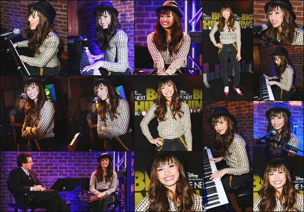 -  02.04.08 : Demi Lovato était présente à Upfront Presentation organisé par Disney Channel !  .