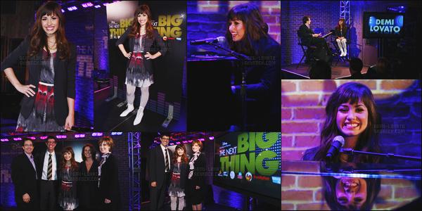 -  09.04.08 : Le lendemain, Demi  était de nouveau à Upfront Presentation organisé par Disney !  .