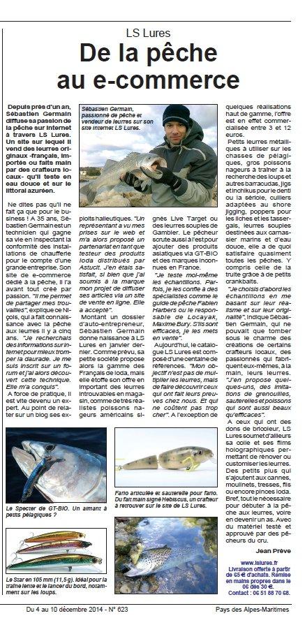 Article de presse sur LSLURES