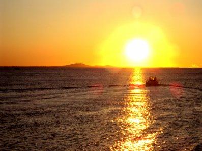 The sun : Lever de s0leil à Valras
