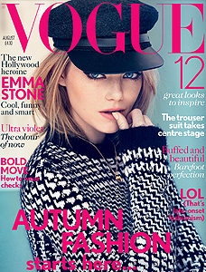 VOGUE UK AOÛT 2012