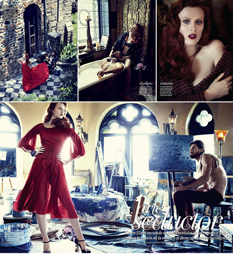 VOGUE MEXIQUE OCTOBRE 2014 #1
