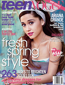 TEEN VOGUE FEVRIER 2014