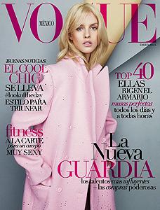 VOGUE MEXIQUE JANVIER 2015