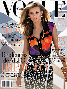 VOGUE MEXIQUE MARS 2015