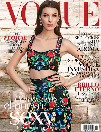 VOGUE MEXIQUE MAI 2015