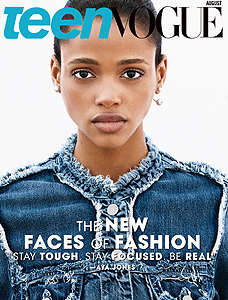 TEEN VOGUE AOÛT 2015