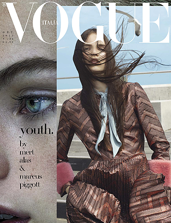 VOGUE ITALIE OCTOBRE 2015