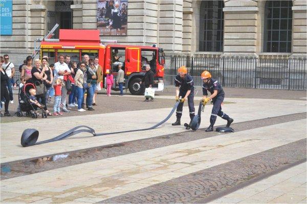 Journée Nationale des Sapeurs-Pompiers à Lille 2015