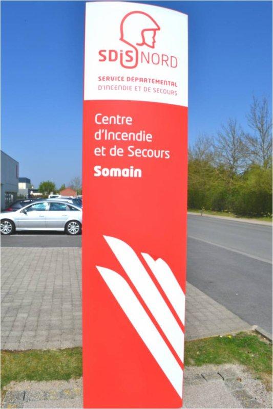 Visite du CIS Somain (59)