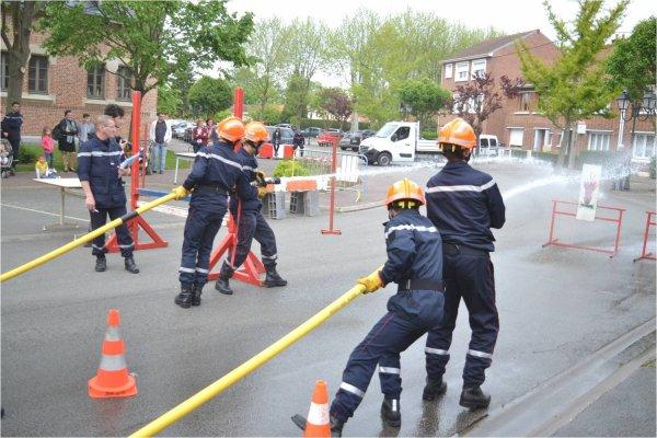 30 ans Section Jeunes Sapeurs-Pompiers de Merville (59)