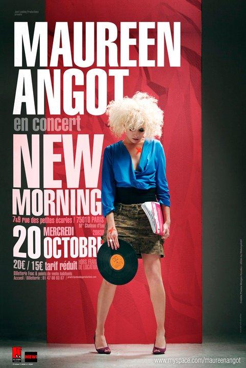 Maureen Angot concert