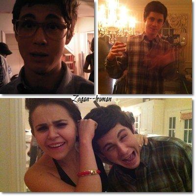 Photos provenant du Twitter de Logan !