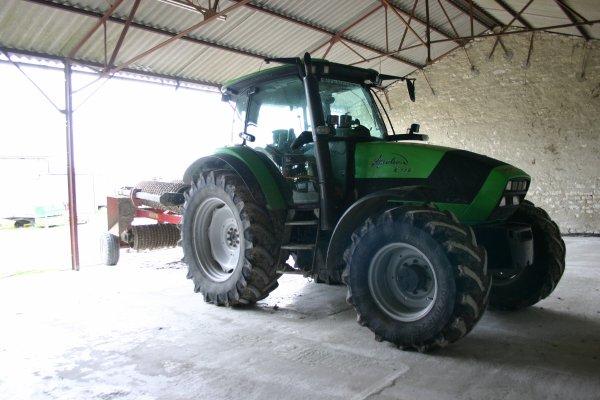 présantation des tracteur réel