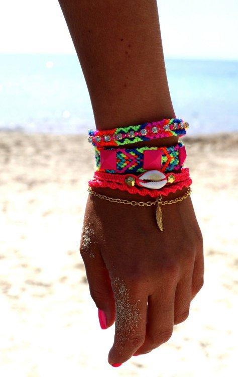 bracelets brésilien <3