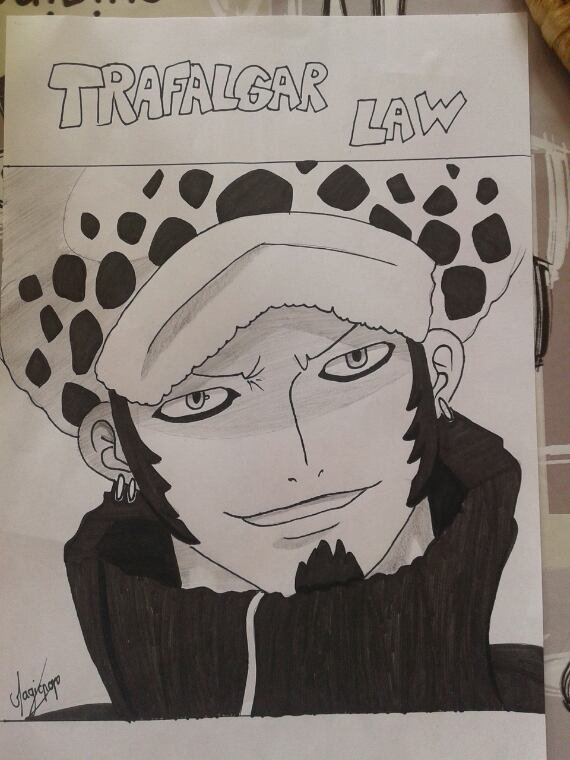 Commande num 4 : Trafalgar Law pour I-Love-Law