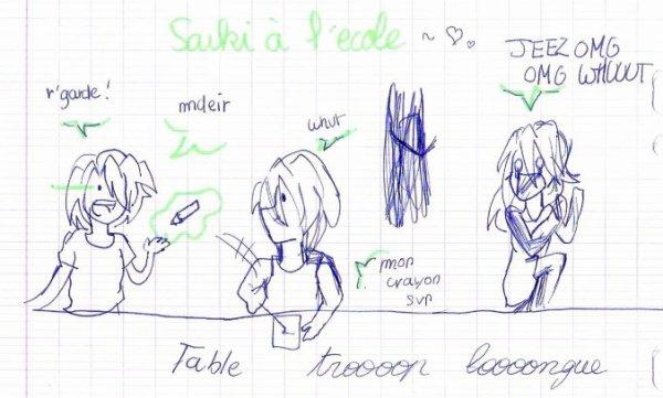 Passes une journée de cours avec Taka' ! //11//