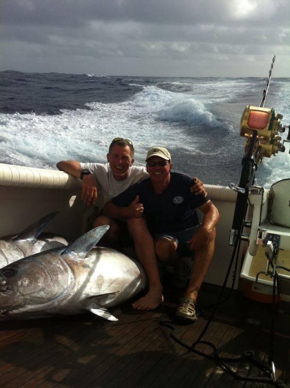 Congrats Jürgen. Nice tuna caught on Brasilia ,yesterday
