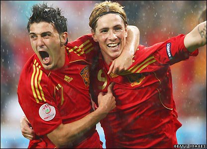 Ils Font Partie De La Meilleure Equipe. Les Meilleurs ; Mes Champions ♥.  09 - F. Torres & 07 - D. Villa