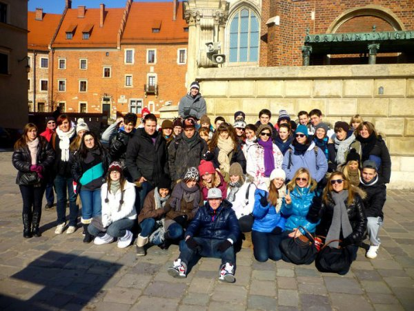 Pologne 2011 ; Plus que mémorable. C'étais Génial ! Merci. 6e Para, Socio & Educ ; 28 Février - 04 Mars.