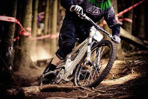 Ne faire plus qu'un, l'harmonie du rider et du bike..