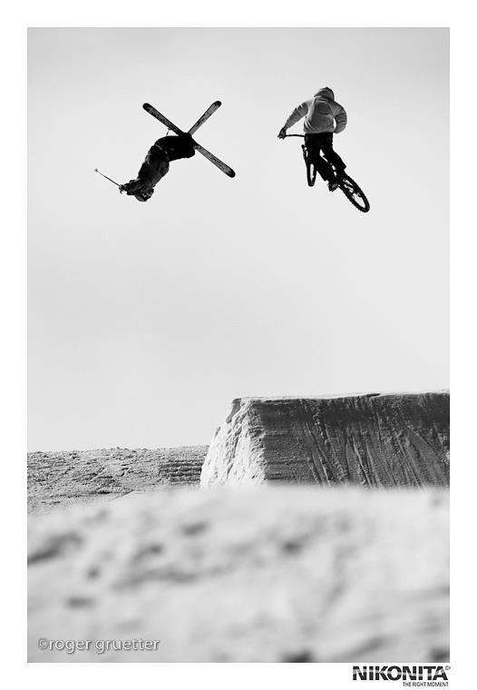 Ski ou DH en hiver ? perso' DH ! <3