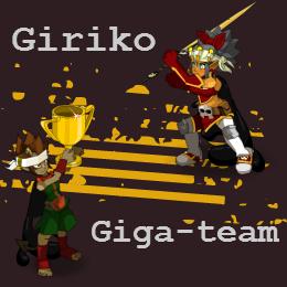 Deux teams du serveur Agride