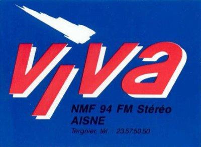 NMF VIVA 94.0 Mhz FM STEREO (Tergnier 02)