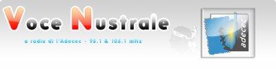 Voce Nustrale 95.1 - 105.1 Mhz FM STEREO