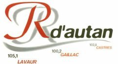 Radio Goût'Agout - Radio 101 - Vaurévox - Radio d'Autan 105.1 - 100.2 - 102.8 Mhz FM STEREO