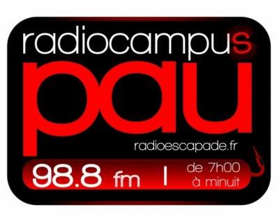 Radio Escapade - Radio Campus Pau 98.8 Mhz FM STEREO