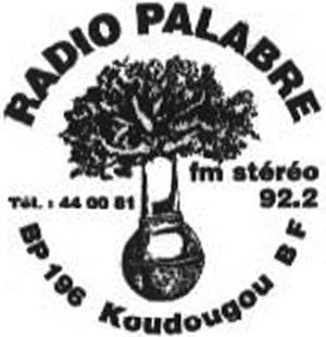 Radio Palabre 92.2 Mhz FM STEREO (Burkina Faso)